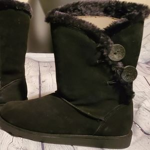SO Image Black Winter Boots NWT Size 8.5